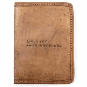 Leather Passport Cover product shot