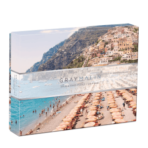 Gray Malin The Italy Double-Sided 500 Piece Jigsaw Puzzle