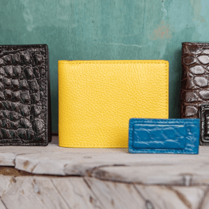 Bifold South Beach Calf Wallet (Many Colors)