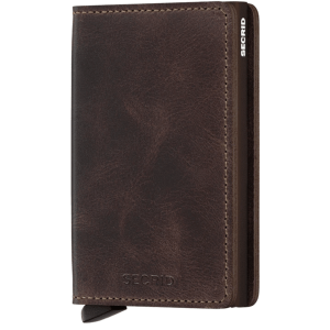 Chocolate Slimwallet (Many Colors)