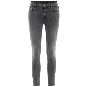 835 Mid-Rise Crop Skinny Jeans in Hook Up