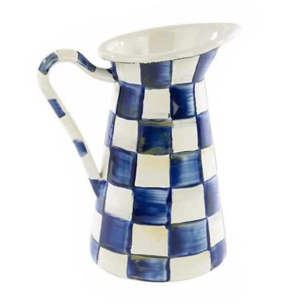 Royal Check Pitcher product shot front view