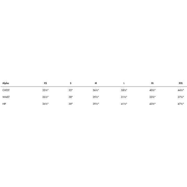 ALC Alphabetical Size Guide