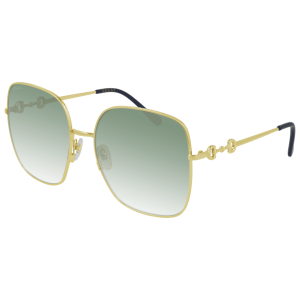 Gold and Green Gradient Sunglasses