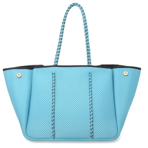 Annabel Ingall Neoprene Tote in Eggshell Blue product shot front view