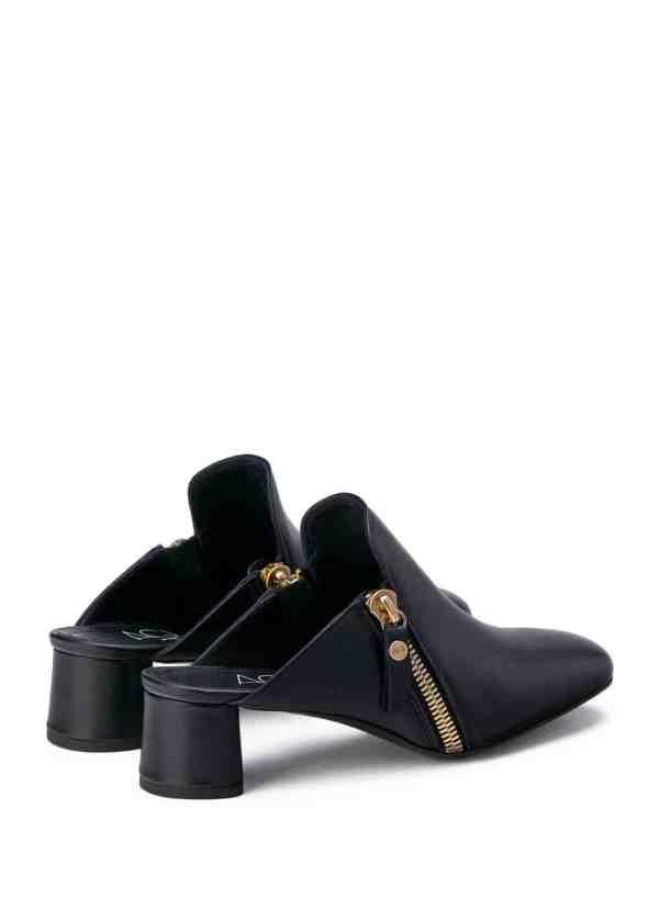 Minau Mule in Black