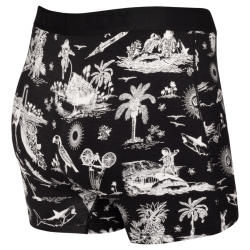 Boxer Briefs in Black Astro Surf and Turf product shot back view