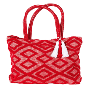 Lina Bag in Red product shot front view