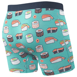 Boxer Briefs in Green Sushi product shot back view