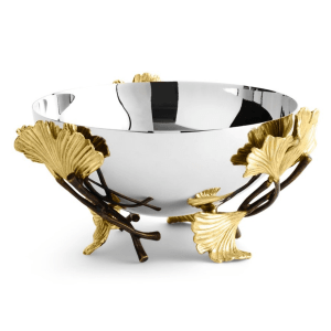 Golden Ginkgo Small Bowl product shot front view