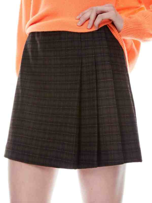 Semira Pleated Mini Skirt