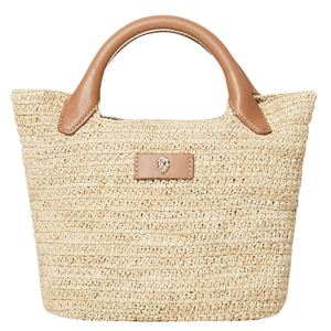 Cassia Mini Bag in Natural/Tan product shot front view