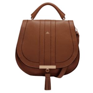 Midi Venice Bag in Cognac
