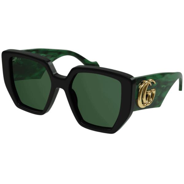 Green Rectangle Sunglasses