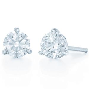 Kwiat Round Stud Earrings - 2.02 Ct