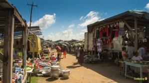 Merchants on the road.