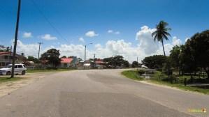 The main highway to Parika.