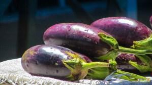 Eggplants - $200 a parcel.