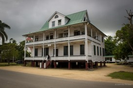House in Coronie, Suriname.