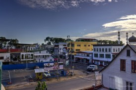 Clean streets in Paramaribo