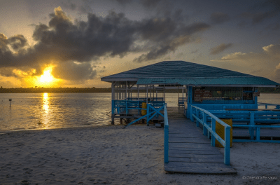 Sunrise at the deck
