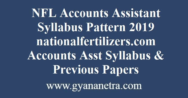 NFL Accounts Assistant Syllabus