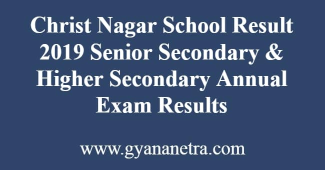 Christ Nagar School Result