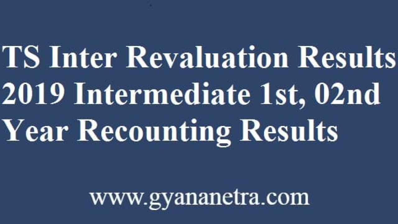 Ts intermediate revaluation 2020 results