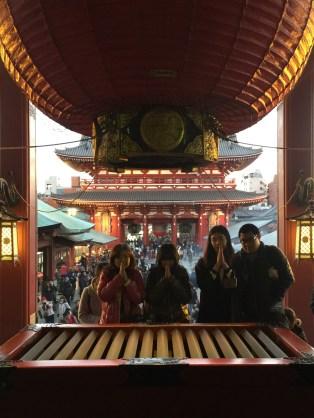SensoJi Shrine, the oldest Shinto shrine in Tokyo.