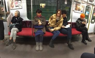 A good spread of Tokyo denizens.