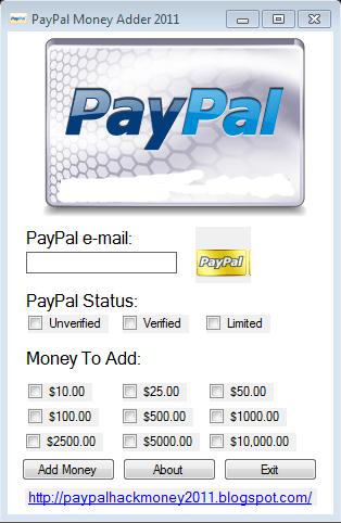 Paypal Konto Generator