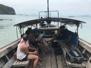 båt i Thailand