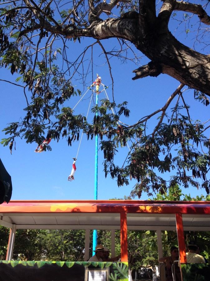 akrobater i luften