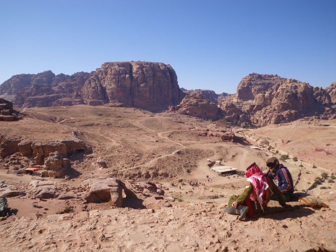 view in Petra