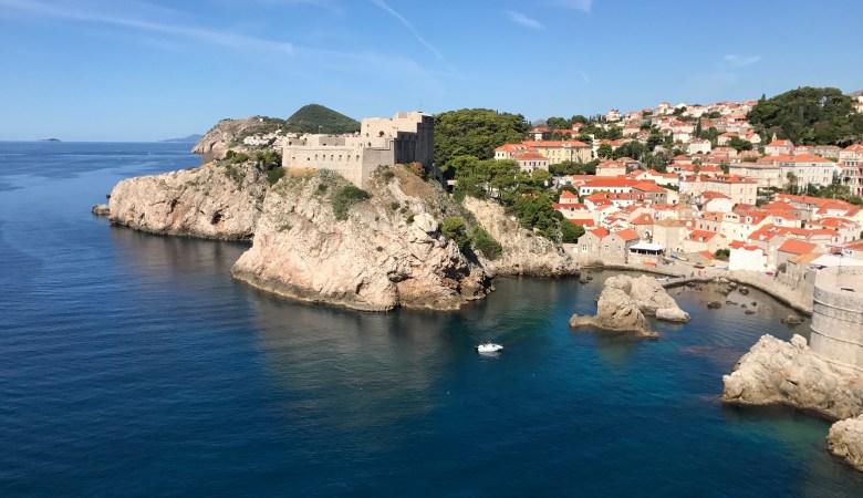utsikt över Dubrovnik