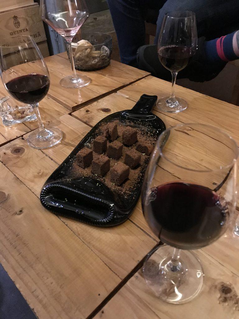 choklad och portvin