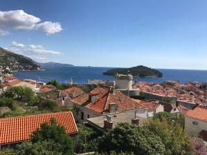 vy över Dubrovnik