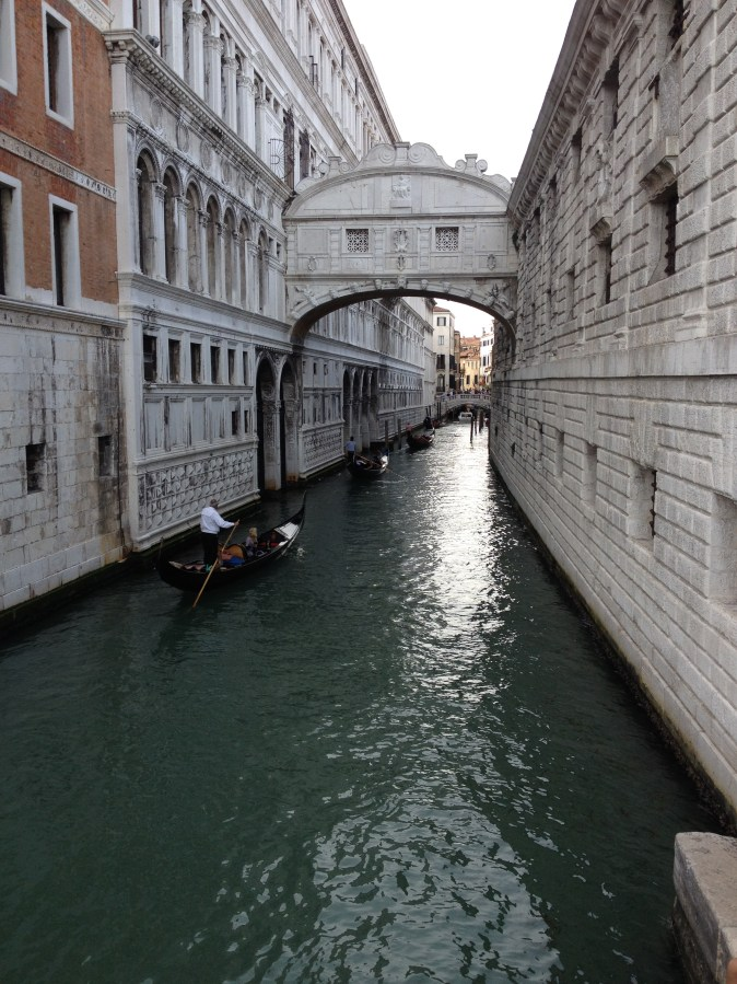 the bridge of the sighs