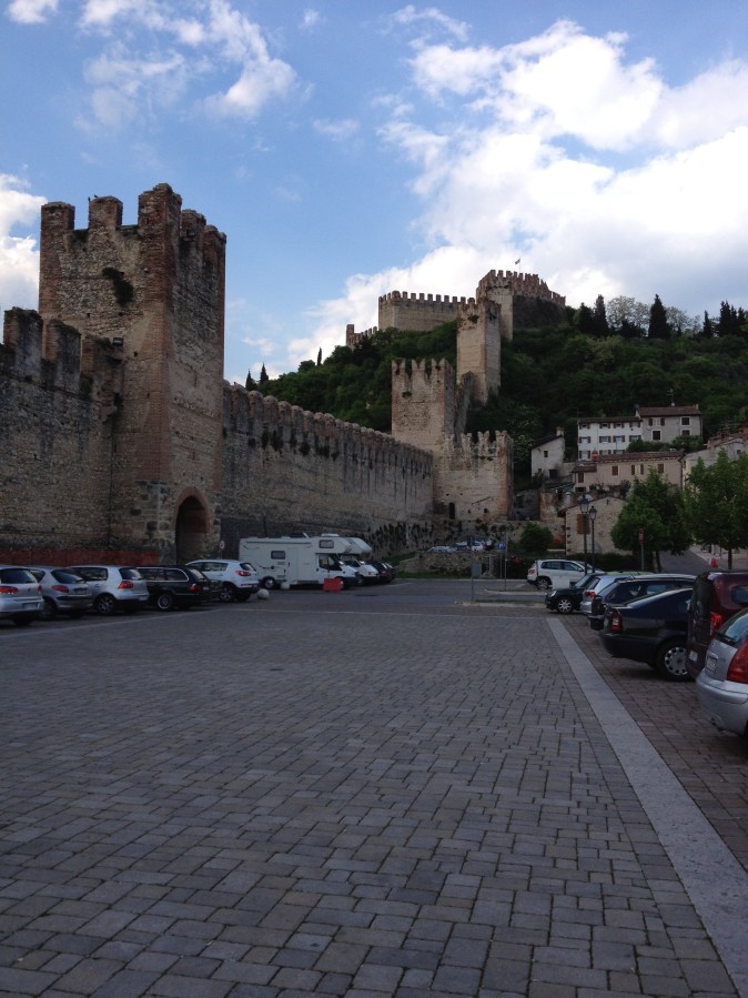 Wall and castle