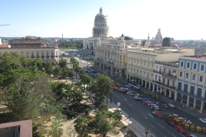 vy över Havanna