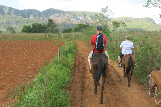 Gyllintours ride in Vinales