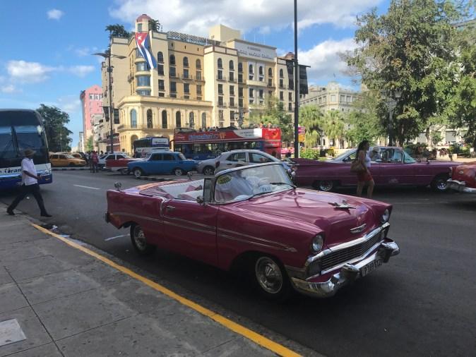 vintage car in Havana