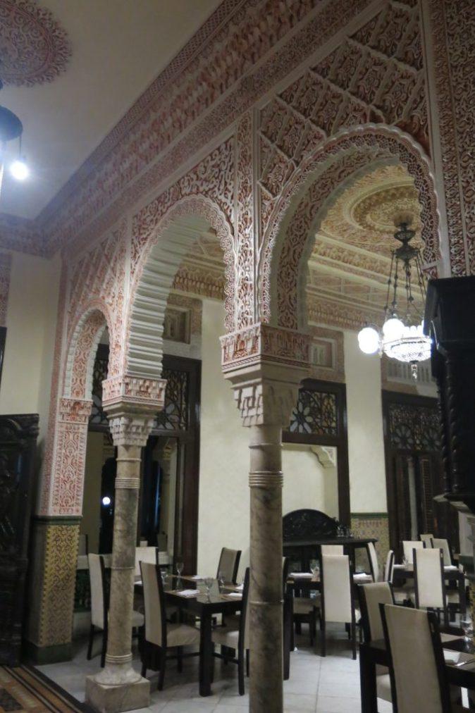 mosaik i Sockerbaronens hus
