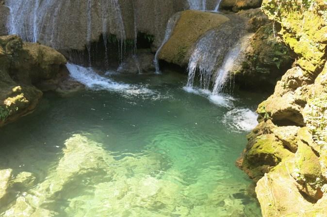 waterfall in Cienfuegos