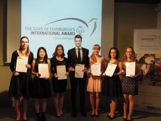34_Ocenění studenti Gymnázia Rumburk