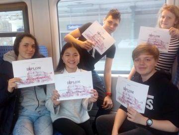 Olympiáda z němčiny Úspěch našich studentů v okresním kole