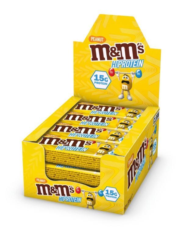 M&M Protein bar