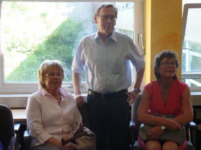 Gäste für die Stadt Haan, Frau und Herr Wetterau, Frau Wahlers