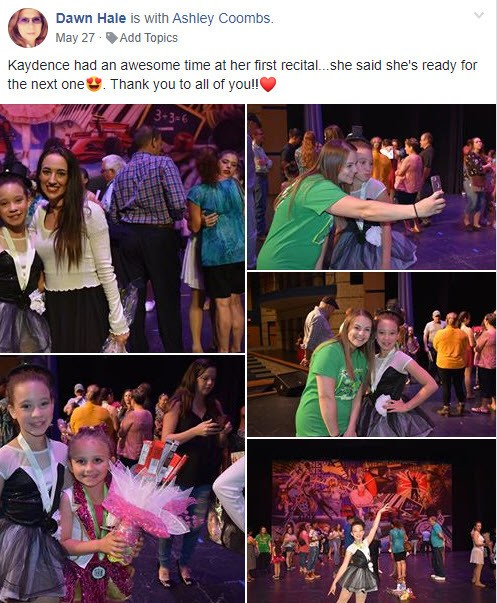Just Dance Testimonial