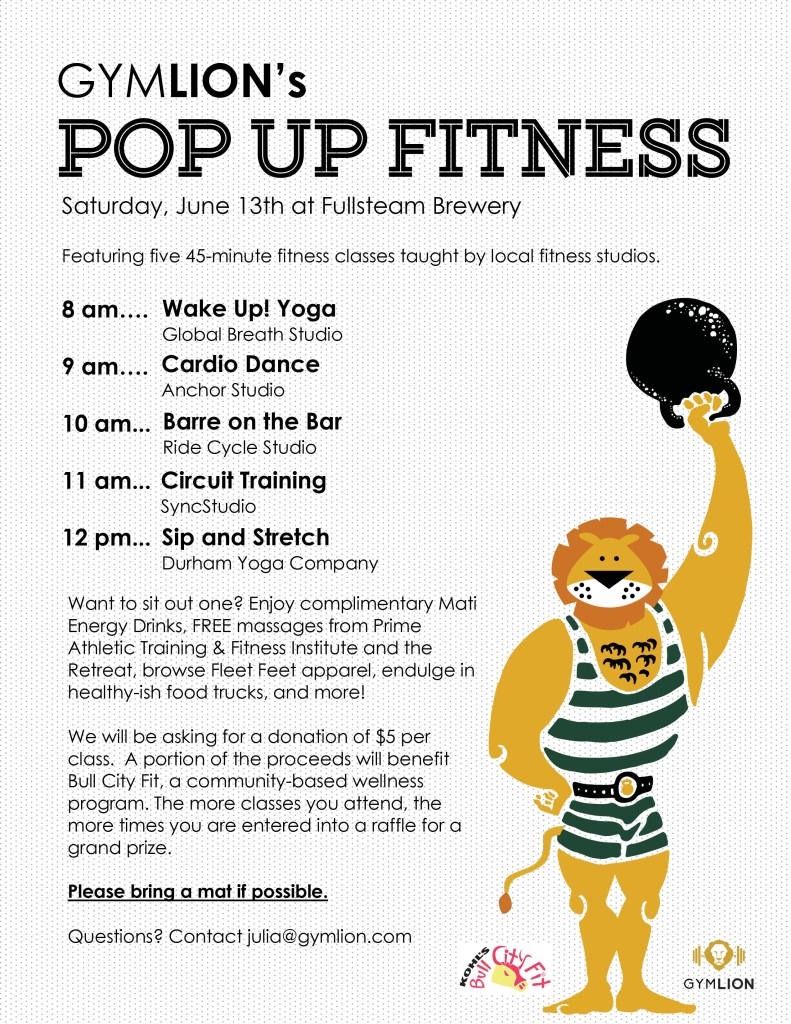 Pop Up Fitness - posters